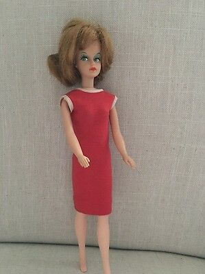 Vintage Blonde Tressy Doll Barbie 1963 American Doll & Toy Corp Hair Extends