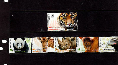 Aust Decimal Used Stamps  - A Set Of 2012 Australian Zoos