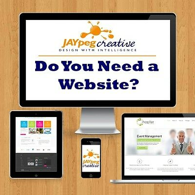 Professional Bespoke Website Design Personal Business Responsive Web ebay store