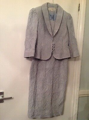 Paddy Campbell ladies dress and jacket 10  nwot