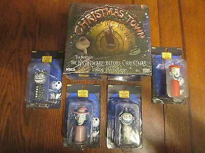 Disney Nightmare Before Christmas Trading Card Game w/ 4 Keychains - NECA - NBX