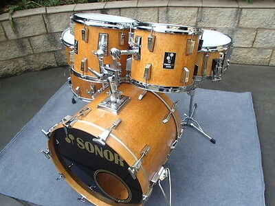 Sonor Lite Vintage Drum Kit - Amazing!