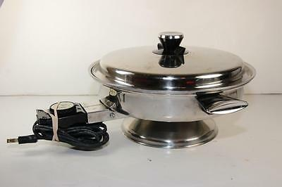 Vollrath Model 24 SKILLET Stainless Steel Electric Skillet 11.5""