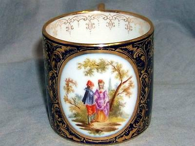 Antique Ackerman & Fritze Volkstedt Tea Coffee Can Cup Royal Vienna Beehive