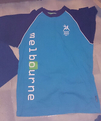 Melbourne 2006 Commonwealth Games shirt and singlet XL