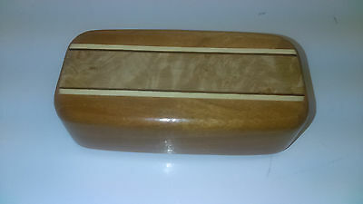 Mike Fisher Heartwood Creations Secret Box Natural Inlay