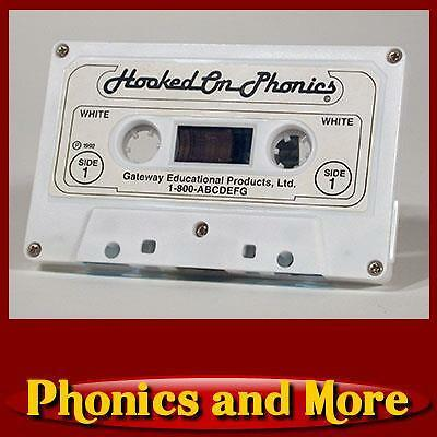 HOOKED ON PHONICS: Replacement Part: 1988-1992 White Cassette