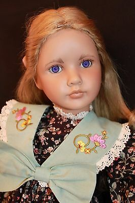 Linda Mason Limited Edition Vinyl Artist Doll  CARRIE  169 of 250  1992