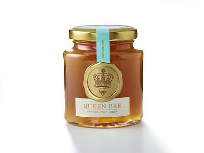 Fortnum & Masons, RARE LIMITED EDITION, Queen Bee 90th Birthday Honey  227g