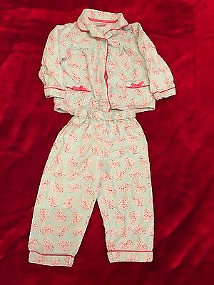 Baby Girl Early Days Pyjamas Sleep Suit Outfit Sleepwear 12-18 Months