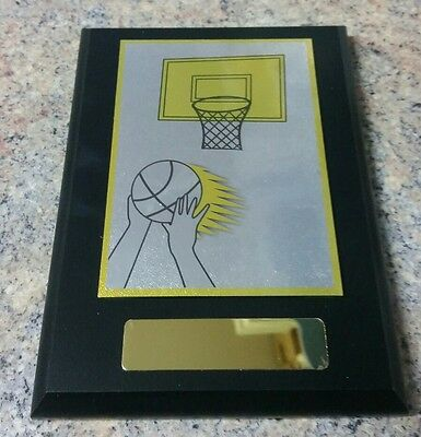 Basketball Plaque Trophy
