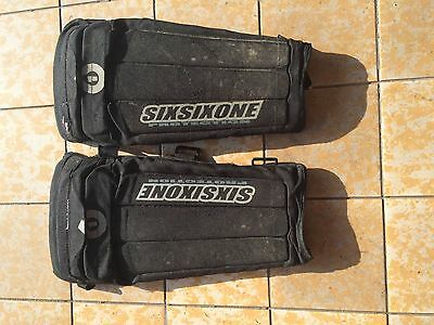Ginocchiere usate sixsixone mtb freeride DH
