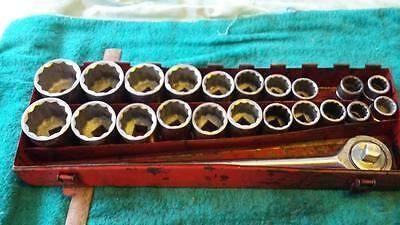 Socket Set 3/4 Drive.tools,workshop,file,garage.shed,motor,piston,car,truck.