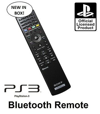 Genuine Official Sony Blu-Ray Remote Control for PS3 *BRAND NEW IN BOX* CECHZR1A
