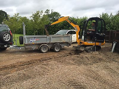 MINI DIGGER HIRE, JCB EXCAVATOR HIRE, With OPERATOR  (MIDLANDS)