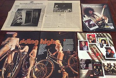 40+ Queen Clippings - Freddie Mercury, Brian May, Roger Taylor + More