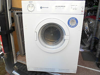 White Knight Cl43Aw Electric, Vented Tumble Dryer 6Kg