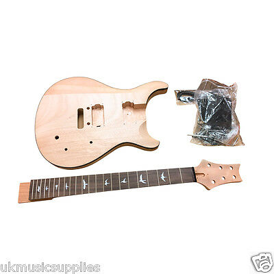 Coban HY850 Electric Guitar DIY Kit for Student Luthier Mahogany Pre-drilled Kit
