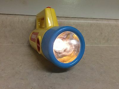 Vintage Playskool Flashlight 1980s Red Green