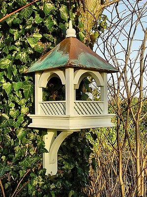 Large Bempton Bird Feed Table with Wall Bracket