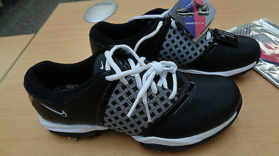 Womans Nike Air Embellish Golf Shoes Size Uk 3.5 New With Box