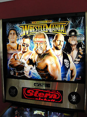 Stern Wwe Legends Of Wrestlemania Limited Edition Le Pinball Machine