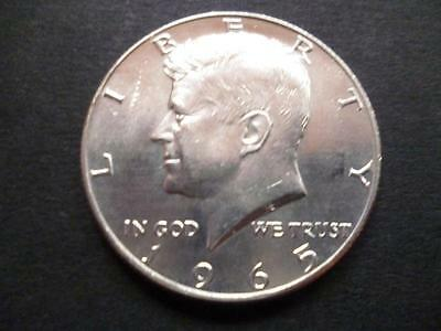United States of America Kennedy Half Dollar coin 1965 40% Silver good condition