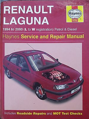 Haynes Renault Laguna Workshop Manual Book Number 3252