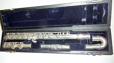 Trevor James 10X flute with curved and straight head joint