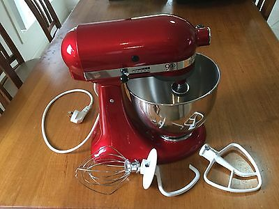Kitchenaid Stand Mixer KSM156 Candy Apple Red GREAT!