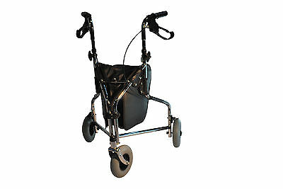 **Clearance Sale** Tri-wheel Walker with Brakes and Bag