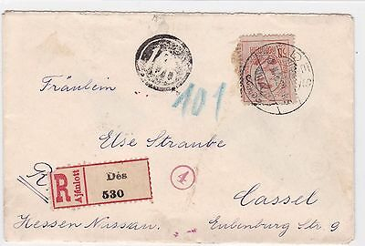 EARLY ROMANIA 1st WORLD WAR COVER R 2439