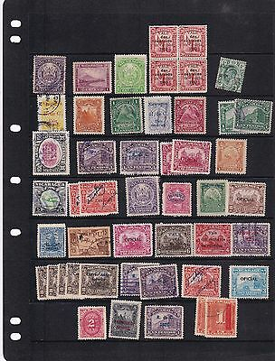 Nicaragua   Mounted Mint  And Used Stamps On Stock Sheet   R 1591