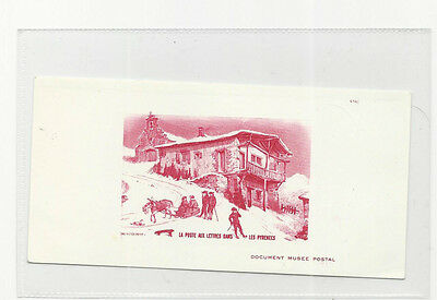 Trade Price Stamps Les Pyrenees,  Gravure Dapres Victor Petit Unmounted Mint