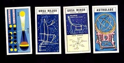 Rare Brook Bond Tea Out Into Space ( Issued With ) Qty 4 cards