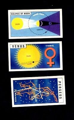 Rare Brook Bond Tea Out Into Space ( Issued With ) Qty 3 cards