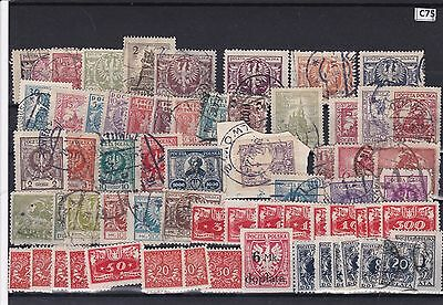 Poland  Mounted Mint And Used Stamps Ref R566