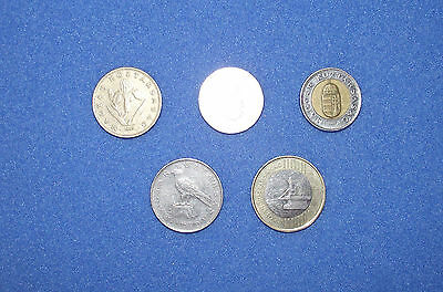 Coins of Hungary Hungarian Florint 200 100 50 20 10 Circulated & Used