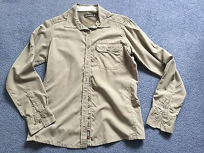 Craghoppers Insect Repellent Walking Shirt Size 12