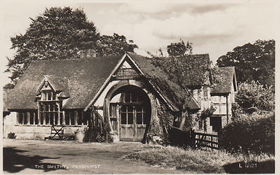 Vintage Postcard Of The Smithy Penshurst Kent Unposted.