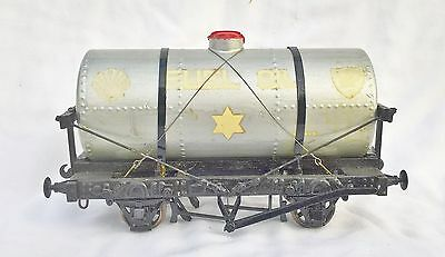 053: scratch / Kit Built Gauge1 Shell B.P Oil Tank Wagon