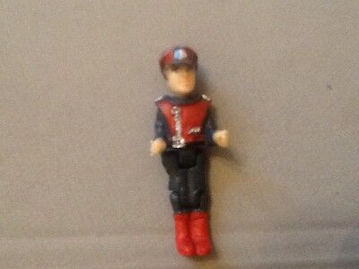 Captain Scarlet Figure From Spv Vehicle