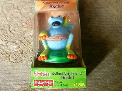 Collectible Friend Rockit ( Fimbles) X 4 New Cbeebies