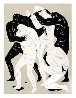 Cleon Peterson Collecting Bodies Silkprint Signed Numbered