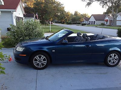 2006 Saab 9-3  2006 SAAB CONVERTIBLE DK BLUE 4 CYL LEATHER SEATS 78000 MILES GREAT CONDITION