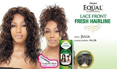 Freetress Equal Fresh hairline Lace Front Wig Julia With Free Gift