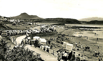 CAERNARVONSHIE - 1950/60s Postcard of The Esplaade, Criccieth