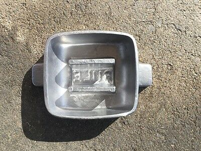 3LB/1.3KG scuba divers lead weight mould  Aussie made. Free postage