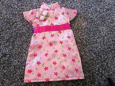 Angelina Ballerina Dress / Outfit - Pink Flowery Dress