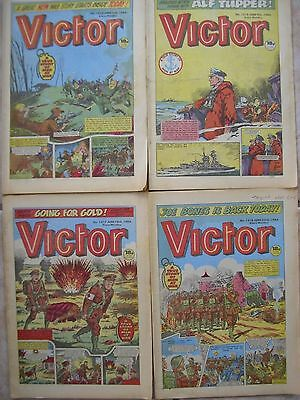 A Collection of 20 Victor Comics 1984